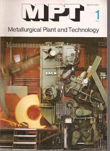 metallurgical plant & technology 1/1983/metalurgia alemania