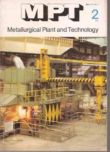 metallurgical plant & technology 2/1981-/metalurgia-alemania