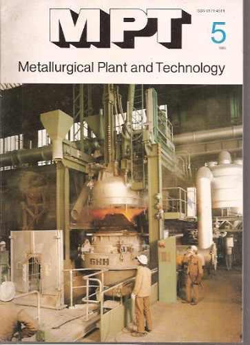 metallurgical plant & technology 5/1985/metalurgia alemania