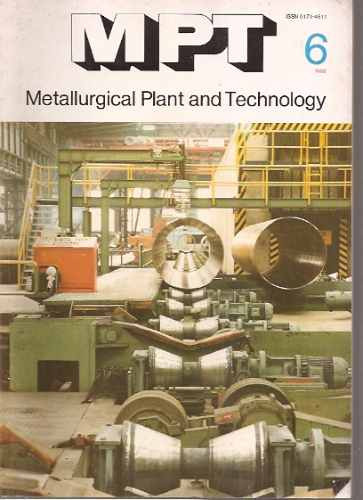 metallurgical plant & technology 6/1982/metalurgia alemania