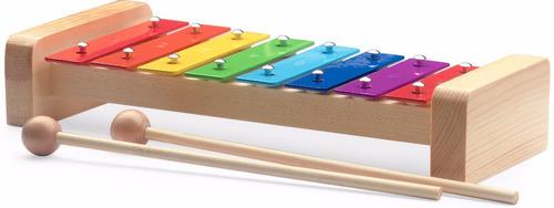 metalofón infantil stagg colores - con baquetas / xilofón