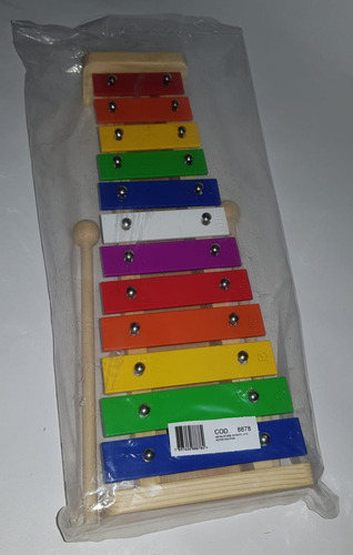 metalofone dolphin infantil 12 nota colorido xilofone metal