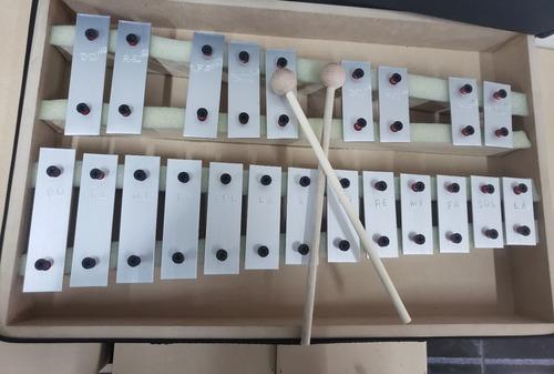 metalofono cromático 22 notas c/funda.  fabricación nacional