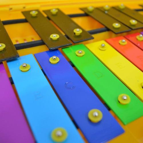 metalófono cromático 25 notas color fucsia alegrarte ltda.
