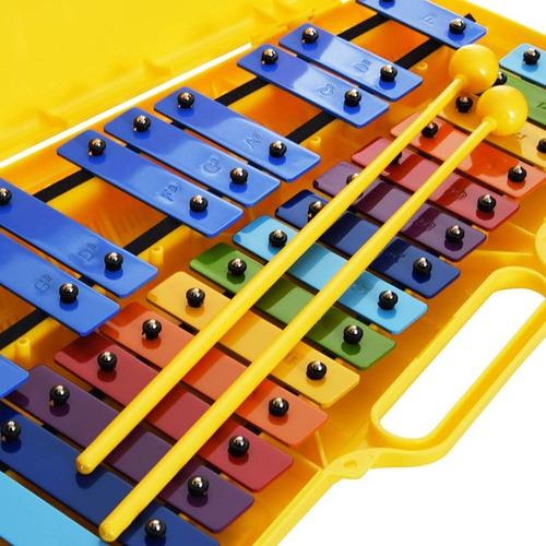 metalófono cromático 25 notas colores (envio gratis) angel