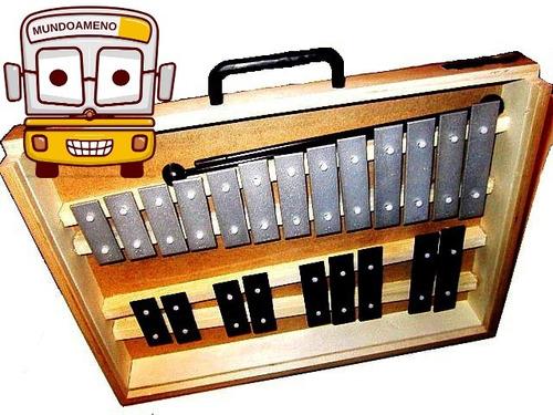 metalófono de 22 notas cromático de una octava y media rmx