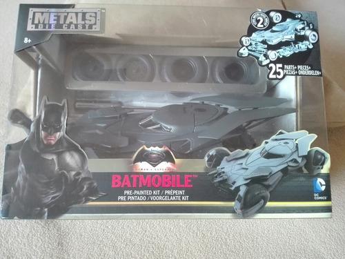 metals die-cast batman v superman batmobile 1:24