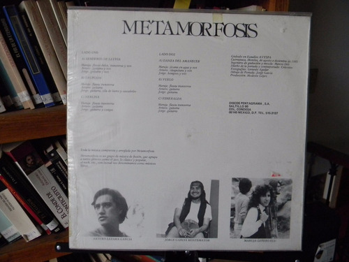 metamorfosis - disco epónimo - lp nacional