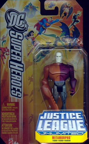 metamorpho justice league - jlu animated