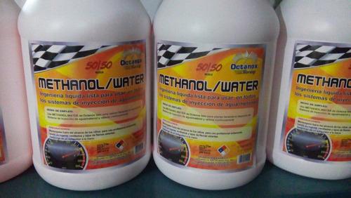 metanol/water. inyección agua metanol 50/50