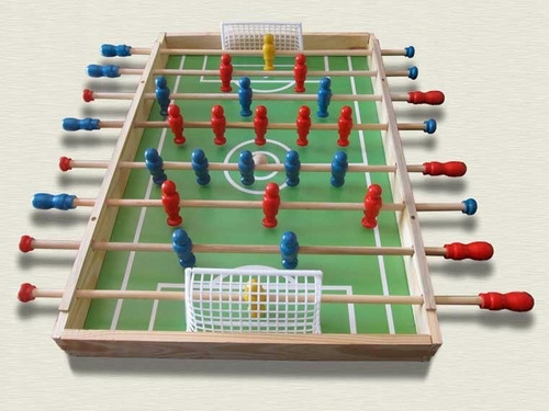 metegol de madera  de mesa  grande - 22 jugadores nuevo