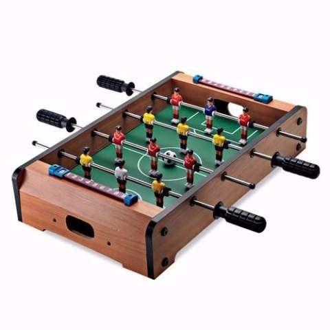 metegol mesa madera tabletop original - jugueteria aplausos