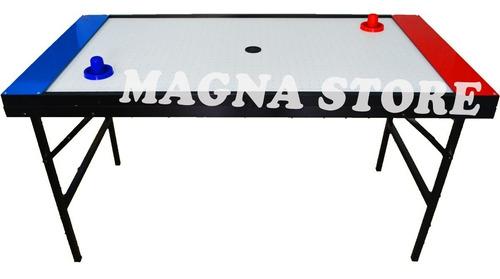 metegol metal aluminio fundicion + mesa tejo aire electrico