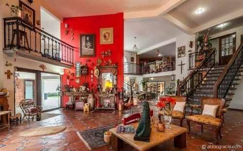 metepec, hermosa y funcional casa colonial a 5 min del pueblo mágico