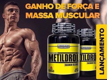 metildrol 60 tabs. aumento de gh testo muscular extra forte