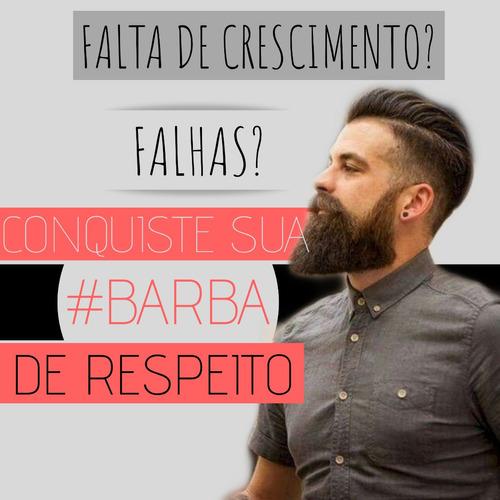 método 100% comprovado para conquistar barba de respeito