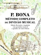 método bona método completo de divisão musical ricordi