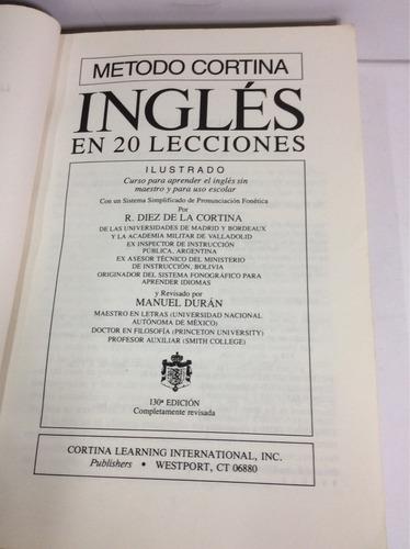 método cortina de inglés, r. diez de la cortina