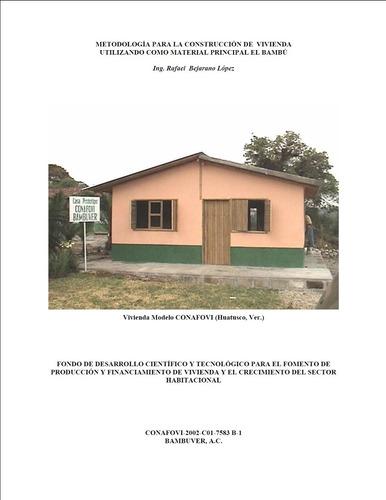 metodo de construccion de viviendas con bambu