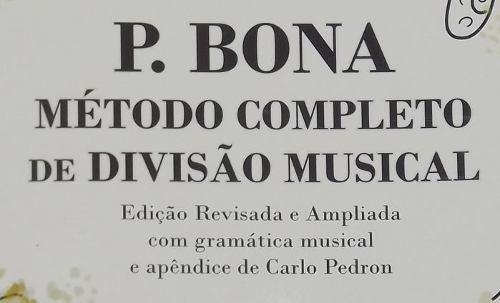 método de ensino p. bona completo de divisão musical dinhos