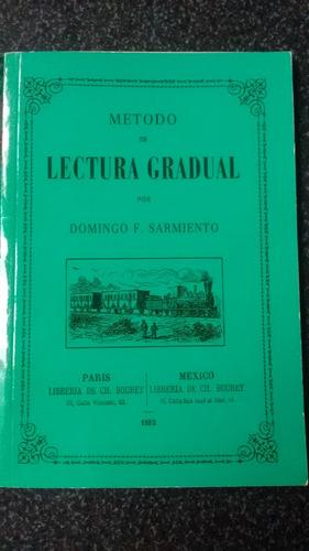 método de lectura gradual, sarmiento d. - ed. clarín