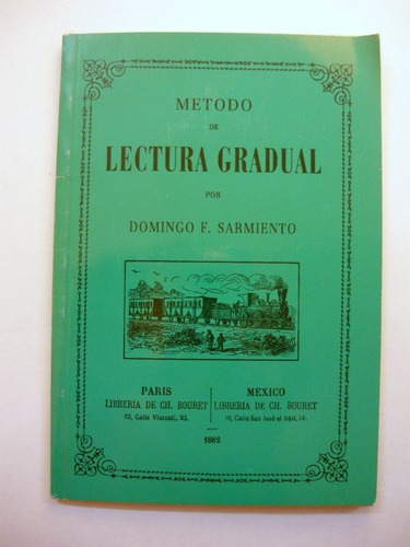 método de lectura gradual, sarmiento, ed.