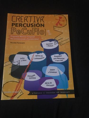 método de percusión creativa pecufio nicolás fioravanti