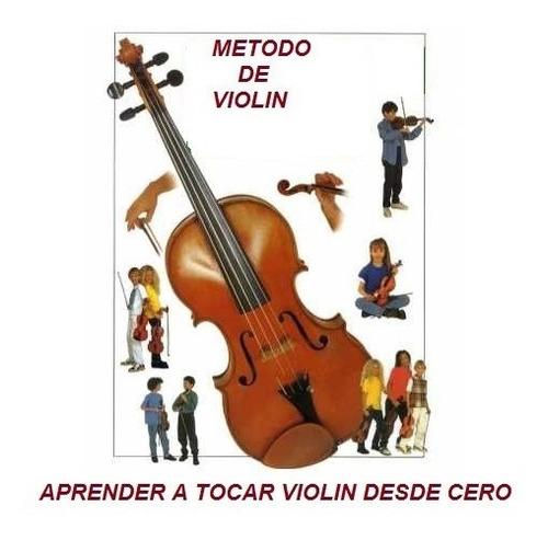 metodo de violin ,curso guia practica para aprender