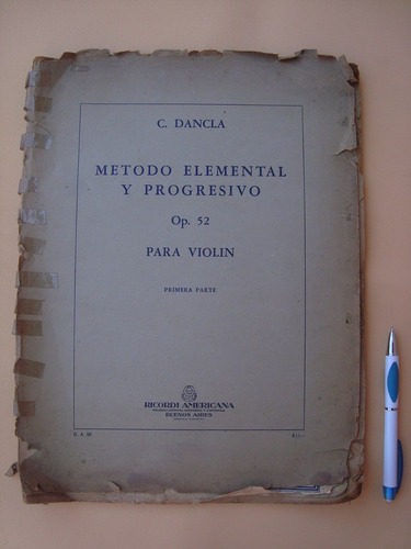 metodo elemental y progresivo para violin charles dancla