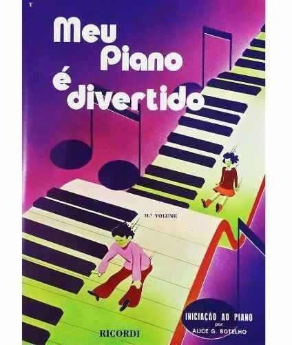 método meu piano é divertido por alice g. botelho 2º volume