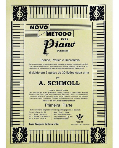 método para piano por a. schmoll 1ª parte