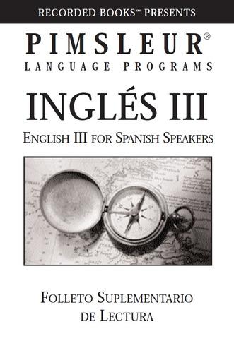 metodo pimsleur 3 niveles- aprende inglés audios mp3+lectura