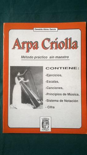 método practico sin maestro para aprender a tocar arpa