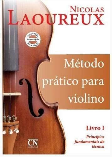 método pratico de violino por nicolas laoureux livro 1