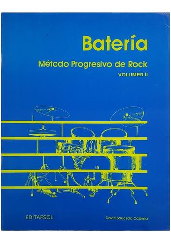 método progresivo de rock, batería vol 2.
