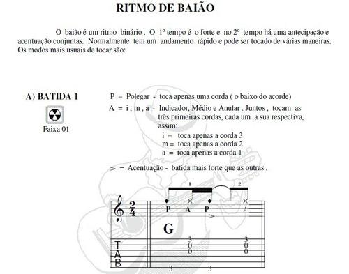 método ritmos no violão - 64 batidas no violão