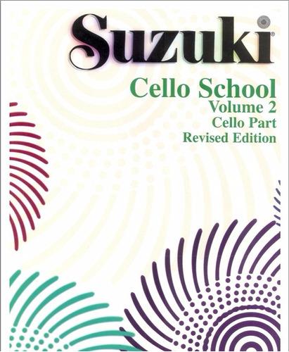 método suzuki de chelo (vol. 1,2 y 3 con audios)