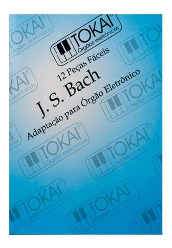método tokai j. s. bach c/ pedaleira