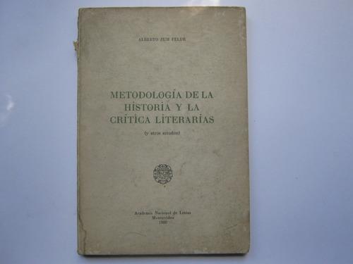 metodologia de la historia y la critica literaria zum felde