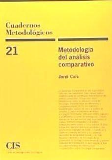 metodología del análisis comparativo(libro humanas y sociale