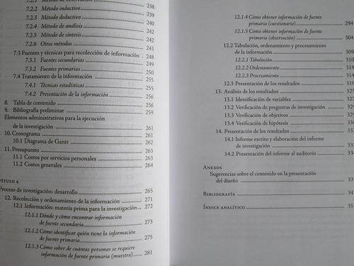 metodología diseño y desarrollo proceso  investigac - limusa