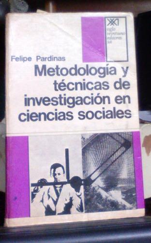 metodologia y tecnicas de investigacion en ciencias sociale
