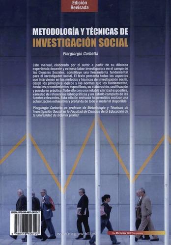 metodología y técnicas de investigación social corbeta 2010