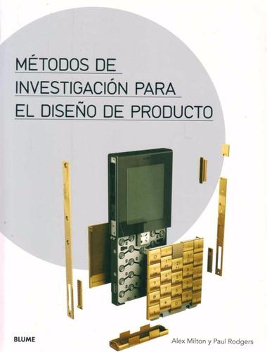 métodos de investigación para el diseño de producto - blume