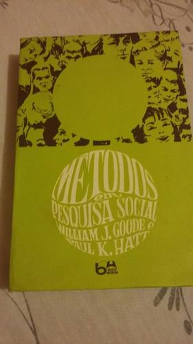 métodos em pesquisa social