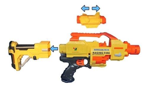 metralleta eléctrica lanza dardos suaves rf 171