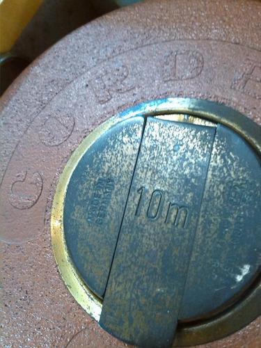 metro antiguo marca cordero aleman de colección 10 mts