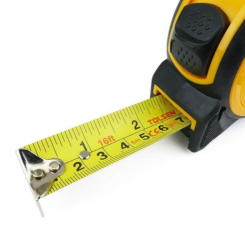 metro cinta metrica profesional retractil 3 metros tolsen