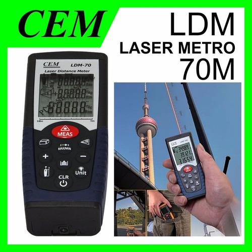metro laser  profesional mide hasta 70 metros +volumen