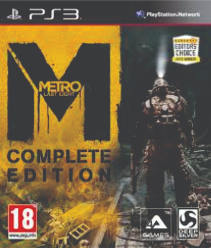 metro last light complete edition - digital ps3 - manvicio